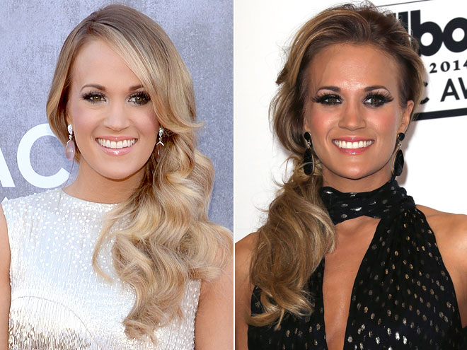 Carrie Underwood, chica, hair color