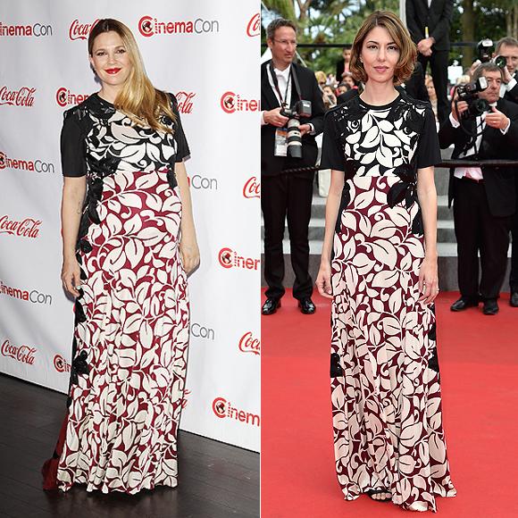 Dos mujeres un vestido, Drew Barrymore, Sofía Coppola