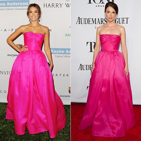 Dos mujeres un vestido, Jessica Alba, Sutton Foster