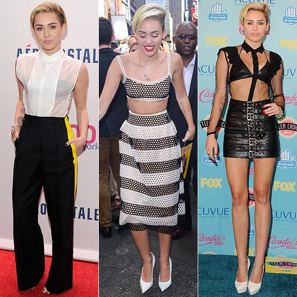 Tendencias, Miley Cyrus
