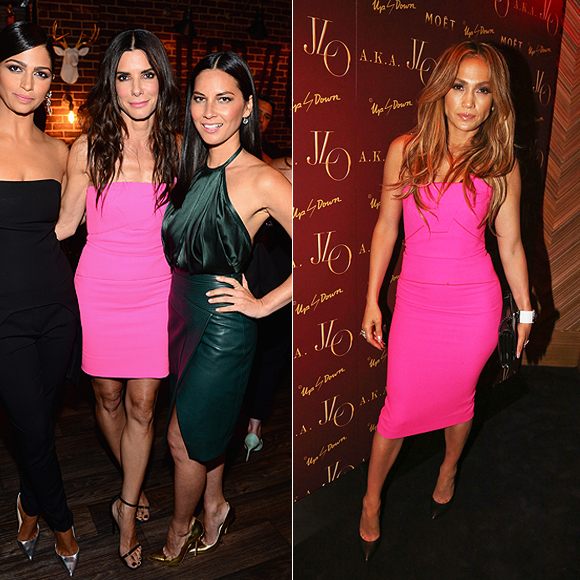 Dos mujeres un vestido, Sandra Bullock, Jennifer López