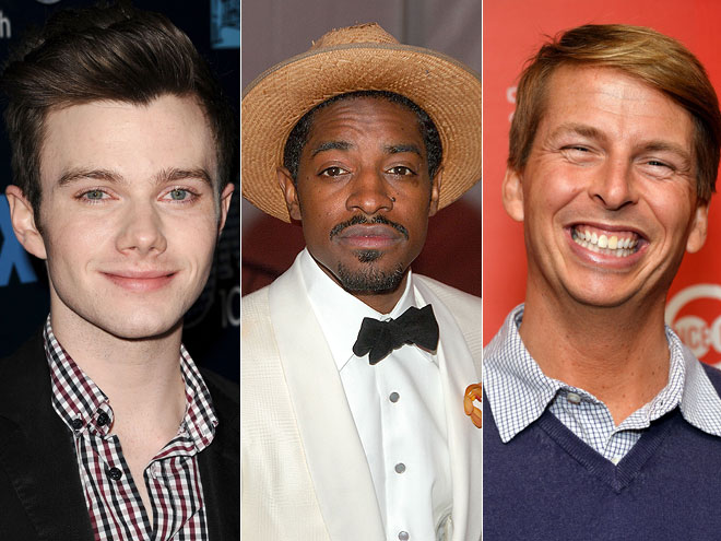 Chris Colfer, Andre 3000, Jack McBrayer