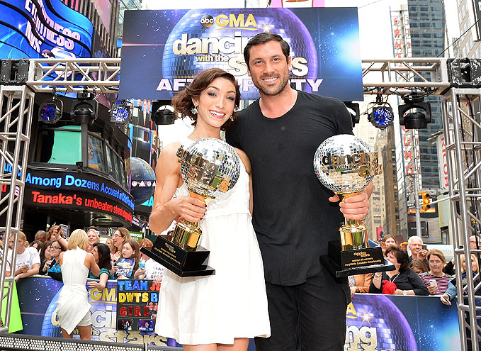 Meryl Davis, Maksim Chmerkovskiy, Dancing with the Stars