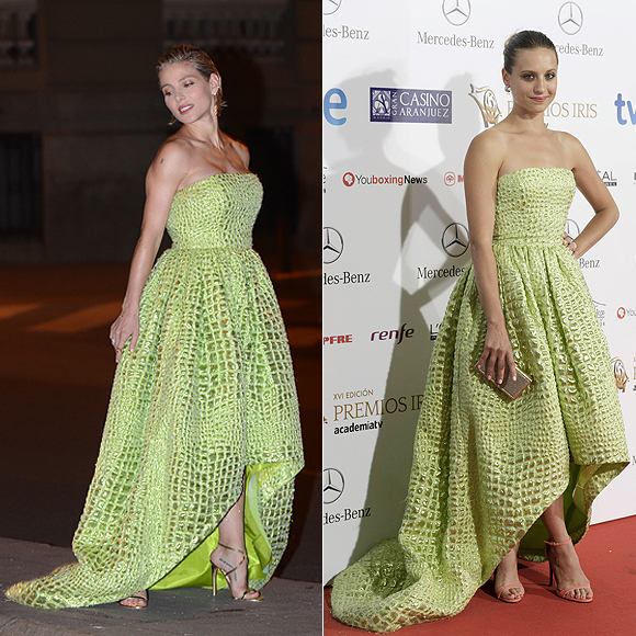 Dos mujeres un vestido, Elsa Pataky, Michelle Jenner