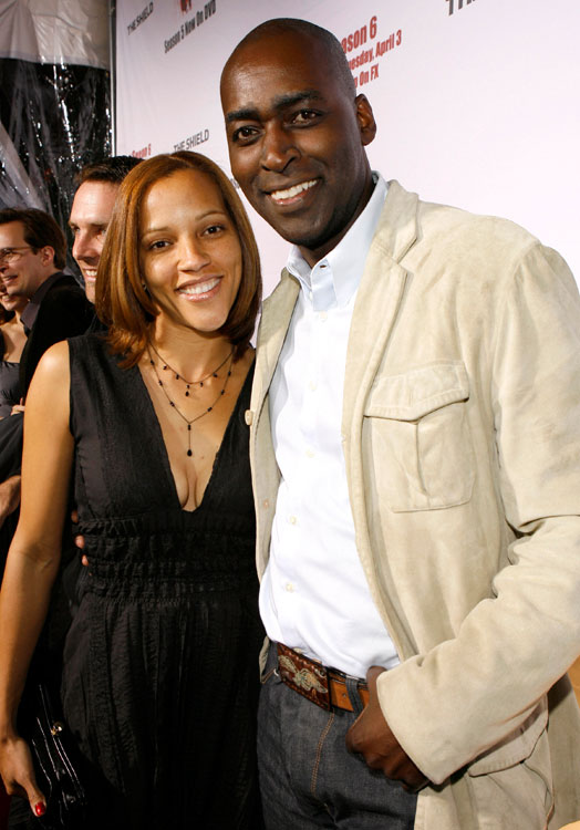 Michael Jace, April Jace