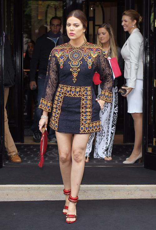 El look del día, Khloe Kardashian