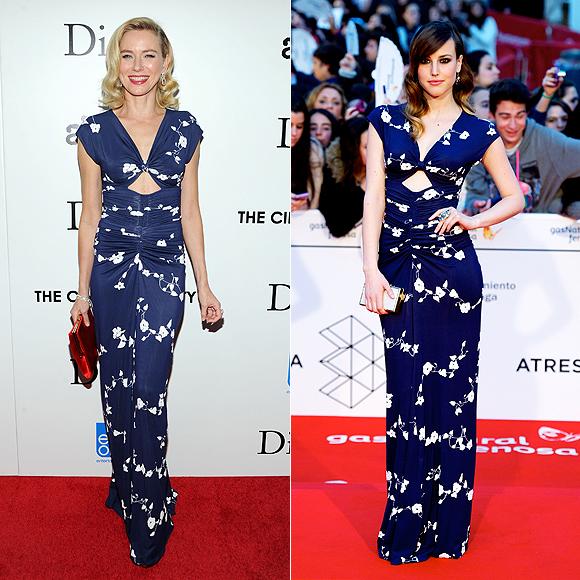 Dos mujeres un vestido, Naomi Watts, Natalia de Molina