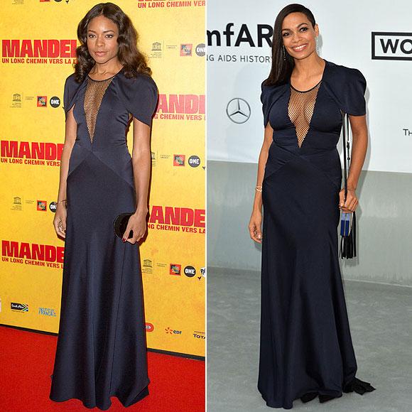 Naomie Harris, Rosario Dawson, Dos mujeres un vestido