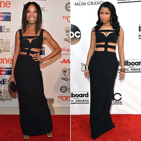 Brandy, Nicki Minaj, Dos mujeres