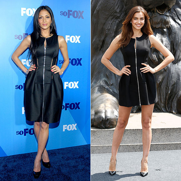 Dos mujeres un vestido, Nicole Scherzinger, Irina Shayk