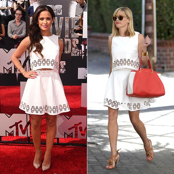 Dos mujeres un vestido, Rocsi Díaz, Reese Witherspoon