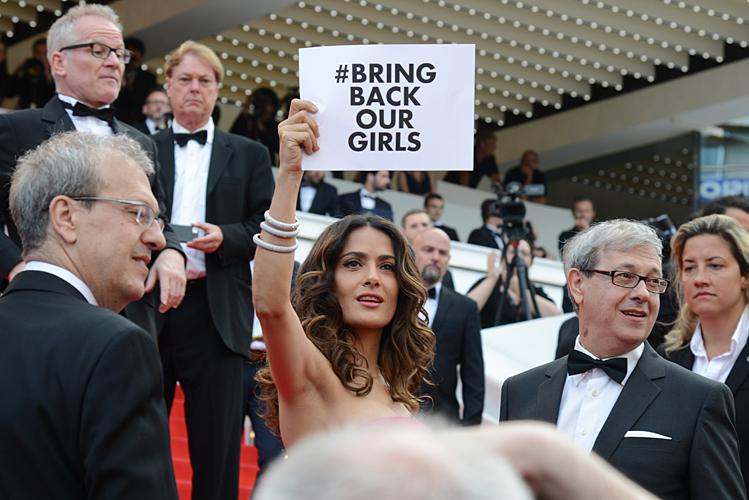 Salma Hayek en el Festival de Cine de Cannes