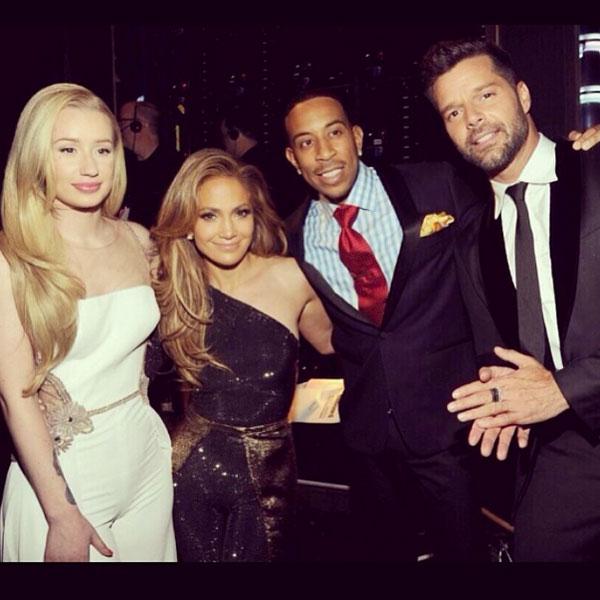 Ricky Martin, Iggy Azalea, Jennifer López, Ludacris, sin filtro