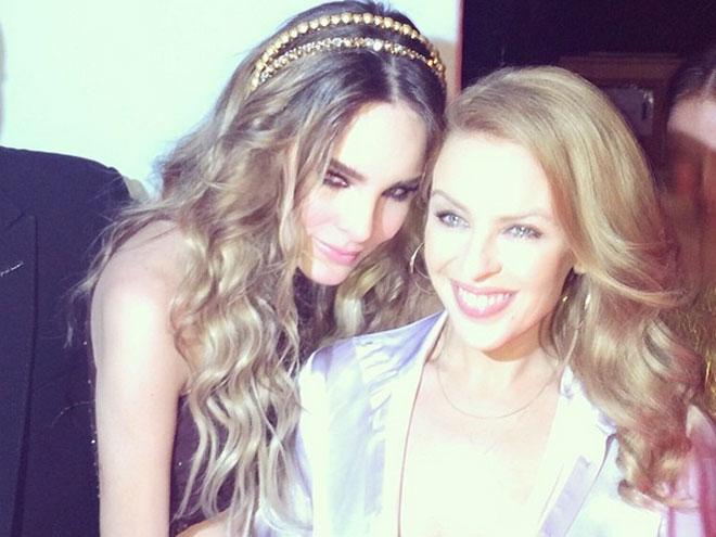 Belinda y Kylie Minogue