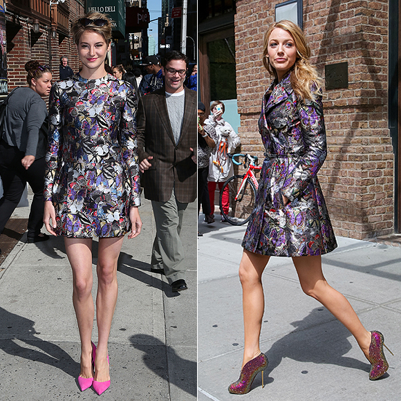 Dos mujeres un vestido, Shailene Woodley, Blake Lively