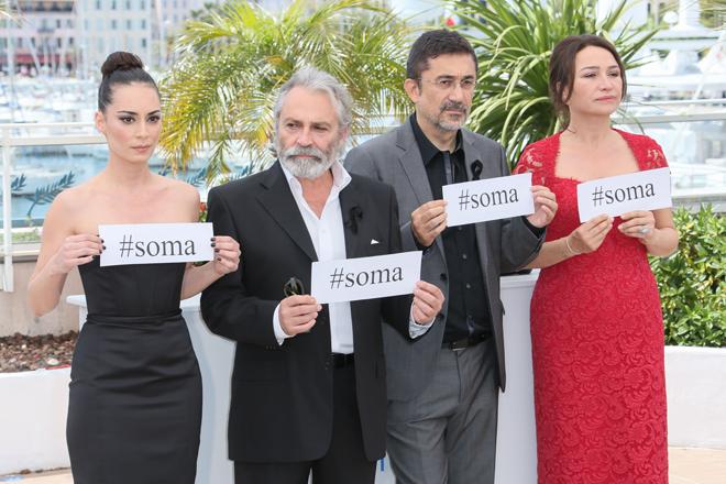Reparto del filme Winter Sleep, en Cannes
