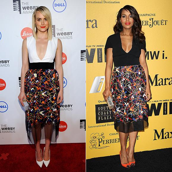 Dos mujeres un vestido, Taylor Schilling, Kerry Washington