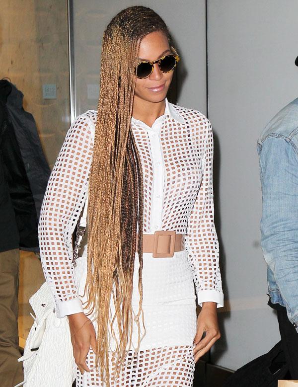 Beyoncé, sin filtro