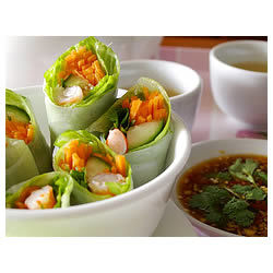 Rollos primavera vietnamitas