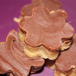 Galletas de cacahuate y chocolate