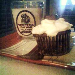 Cupcakes de chocolate con calabacitas