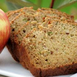 Pan de manzana con calabacita