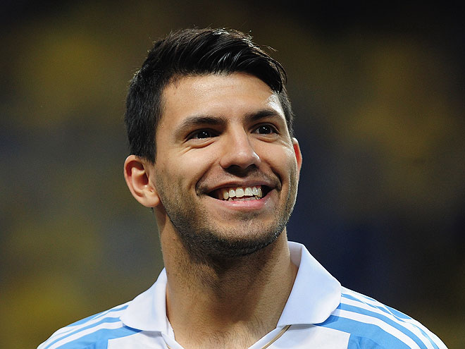 SERGIO AGÜERO, guapos fútbol