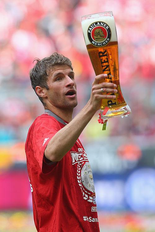 Thomas Müller, fútbol, guapos