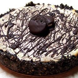 Cheesecake de chocolate con almendra