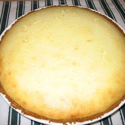 Cheesecake con costra de nuez
