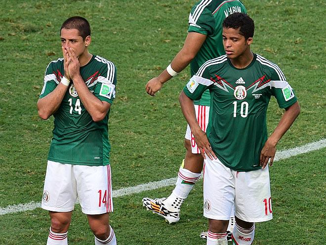 Javier Chicharito Hérnandez y Giovani Dos Santos