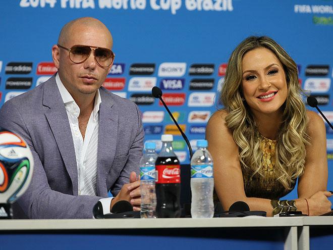 Pitbull, Claudia Leitte, Míralos
