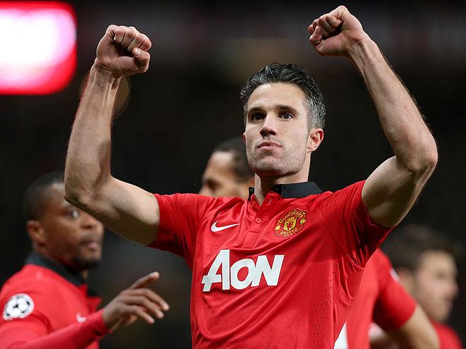 guapos fútbol, Robin van Persie