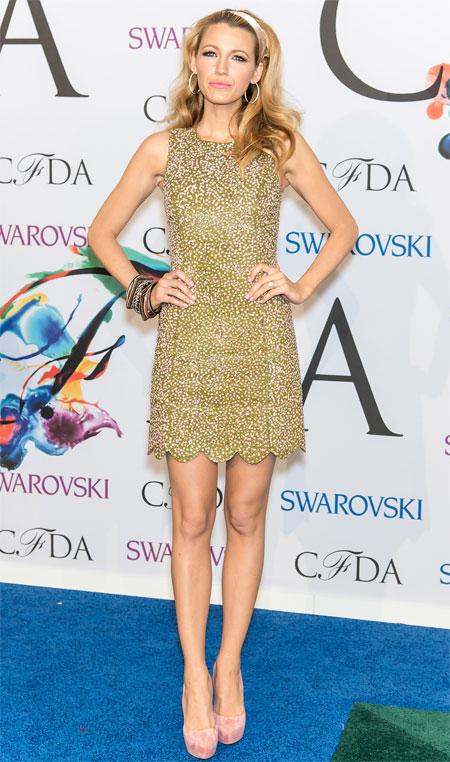 BLAKE LIVELY, Premios CFDA de la moda