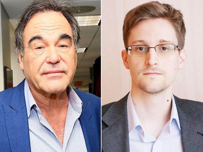 Oliver Stone, Edward Snowden