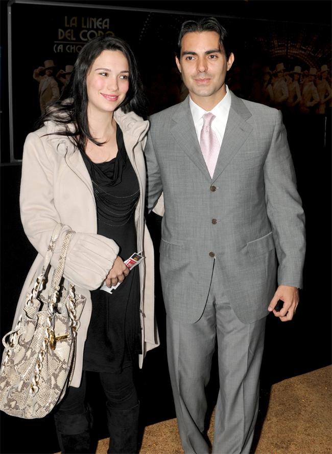 Ernesto D'Alessio y su esposa, Charito D'Alessio