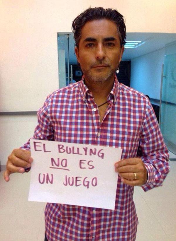 Raúl Araiza, no bullying