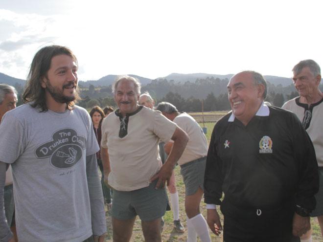 Diego Luna y Bonifacio Núñez Vega