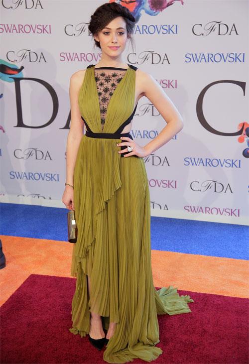 EMMY ROSSUM, Premios CFDA de la moda