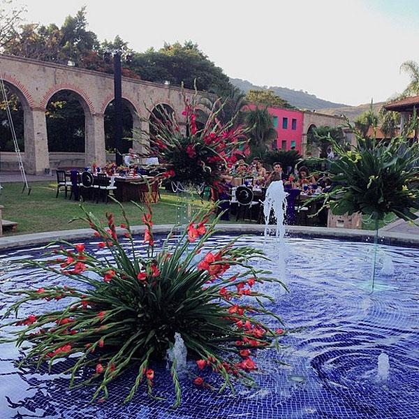 ANA PATRICIA, Luis Carlos Martínez boda