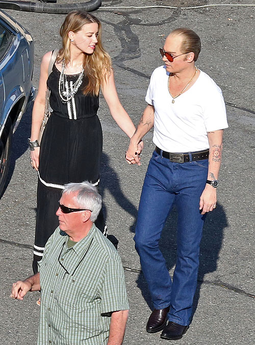 Johnny Depp, Amber Heard, Míralos