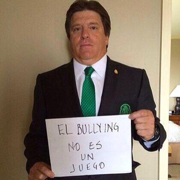 Miguel 'El piojo' Herrera, bullying
