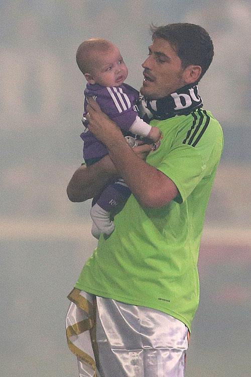 Íker Casillas, papás futbolistas