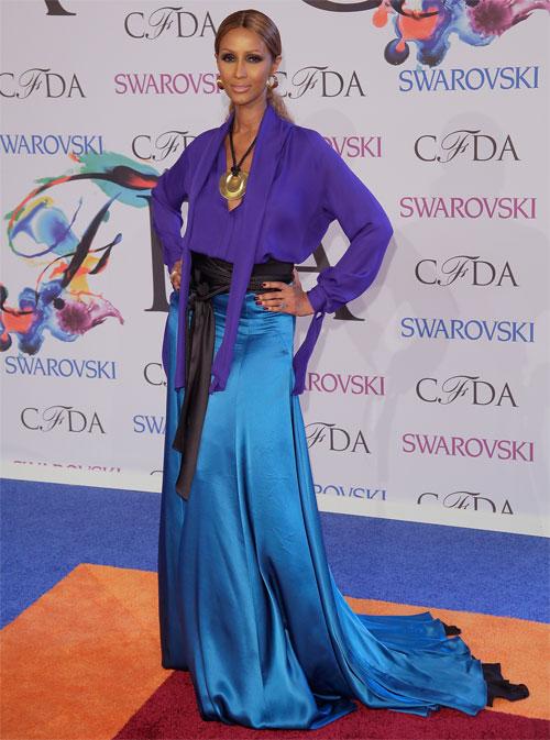 IMAN, Premios CFDA de la moda