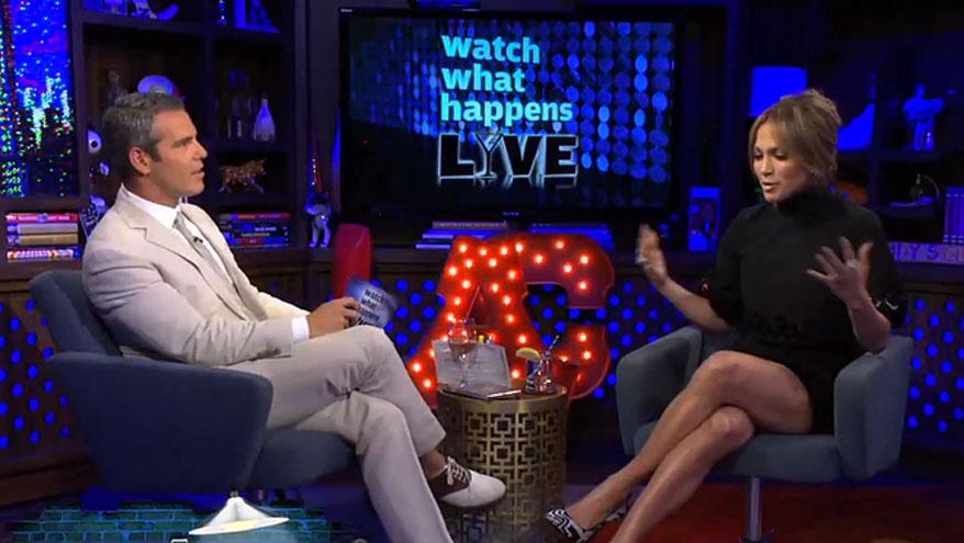 Jennifer López, Andy Cohen