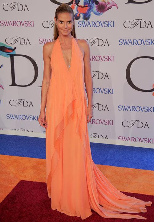 HEIDI KLUM, Premios CFDA de la moda