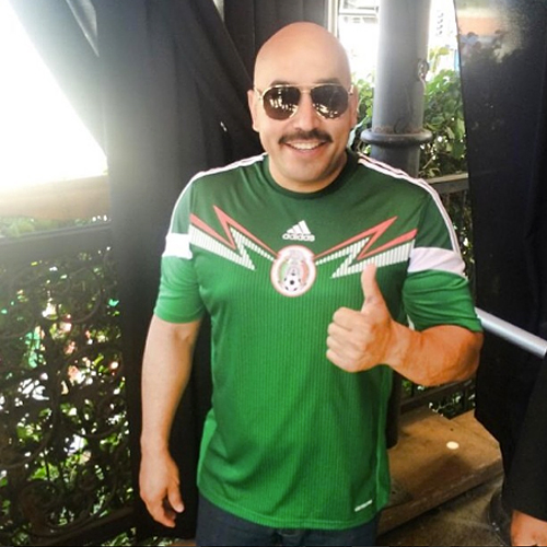 LUPILLO RIVERA, Famosos con el Mundial Brasil 2014