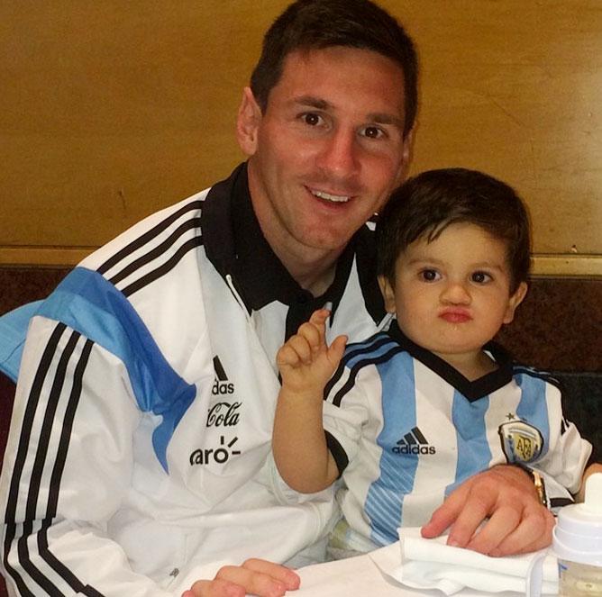 Leo Messi, Thiago