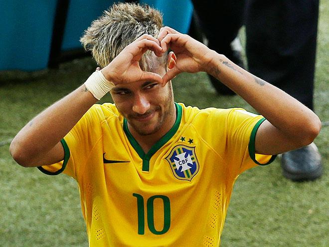 Neymar Da Silva, futbolistas guapos