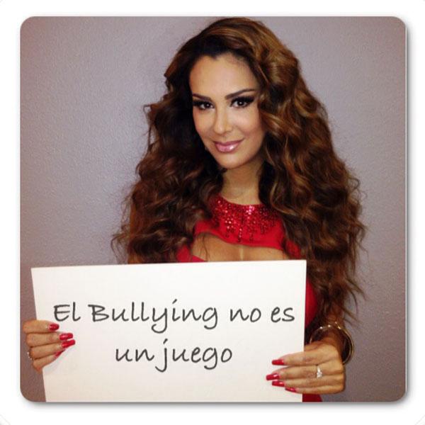 Ninel Conde, bullying